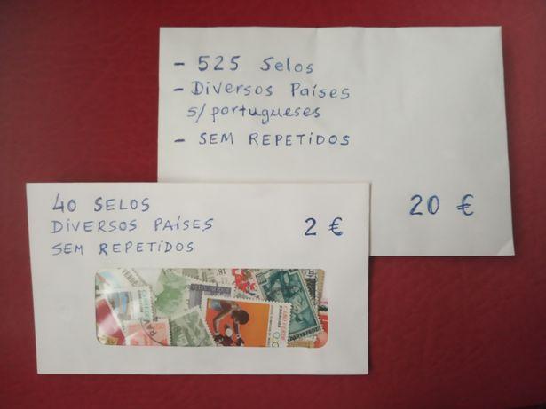 525 + 40 SELOS  Diversos