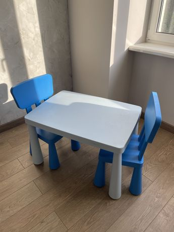 Детский стол и стулья, Икеа, Ikea
