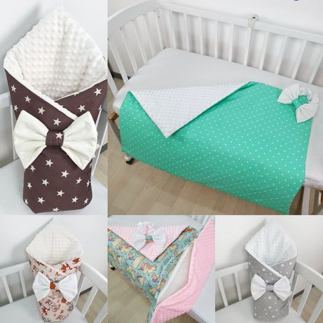 Детское одеяло-конверт-плед на выписку 3в1 для новорождённых