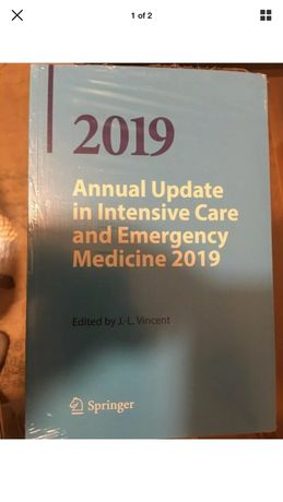 Livro Annual update in intensive care and emergency medicine 2019