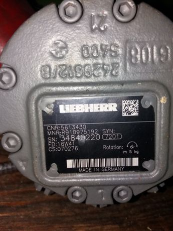 Silnik hydrauliczny Liebherr