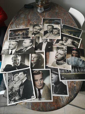 Kolekcja starych fotografii, zdjęć, filmowe, aktorskie, aktorzy