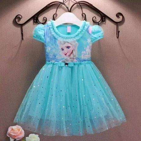 Sukienka Elza z krainy lodu 134 lub 146