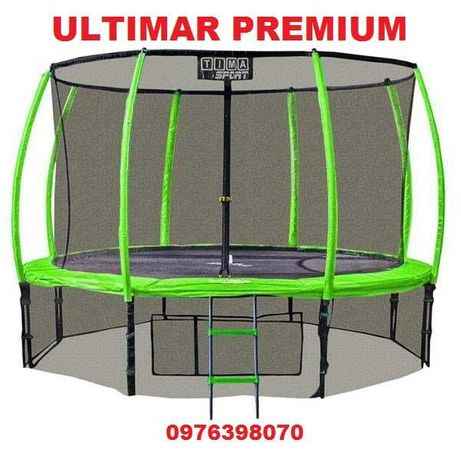 Батут Ultimar Premium 252,312,370,430см (двойные ноги, )