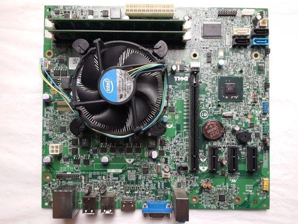 Комплект 1155, Майнинг, Intel G620 2.6GHz +DDR3 4Gb + охлад