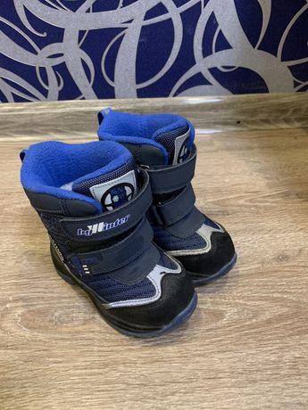 Зимние термо сапоги B&G для мальчика