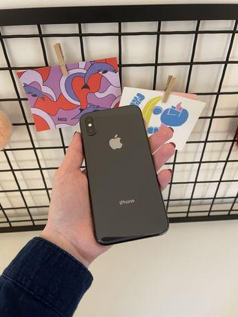 Iphone X 64gb + оригинальный кожаный чехол Apple