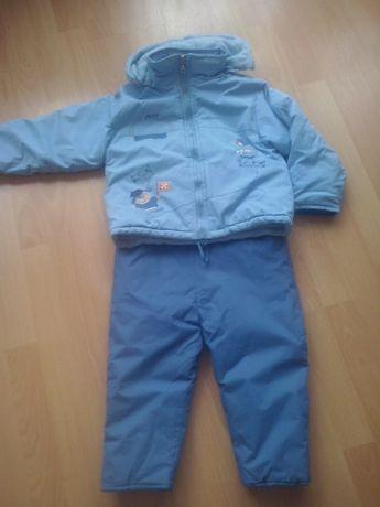 Kurtka i spodnie zimowe-3 latka