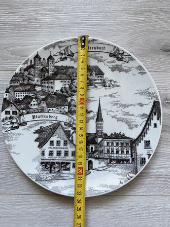 Настенная сувенирная тарелка Германия KAHLA