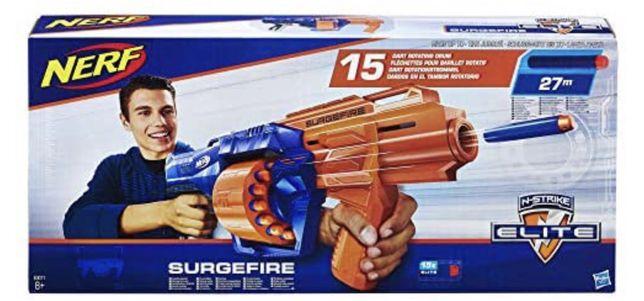 Pistola nerf surgefire