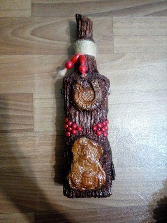 Продам красивую бутылку для декора