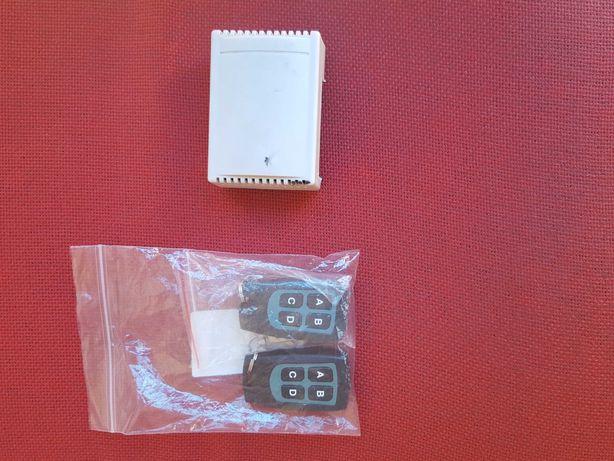 Comandos wireless + receptor para estrado de pronto-socorro