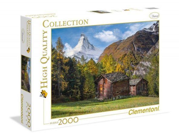 Puzzle 2000 elementów. Szczyt Matterhorn