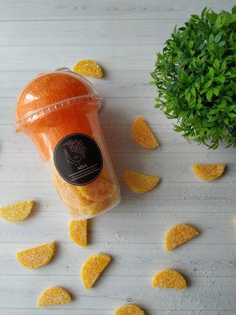 Скраб для тіла апельсинові дольки