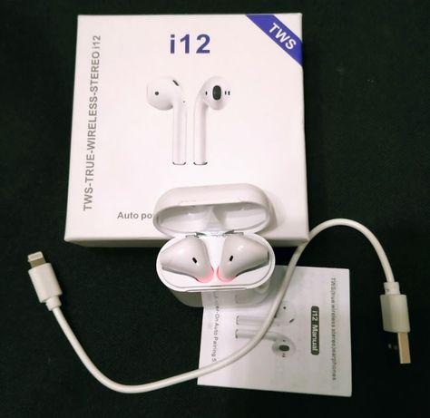 Беспроводные сенсорные Bluetooth наушники i12 TWS