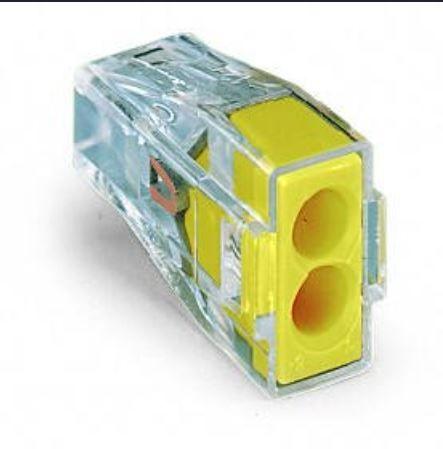 Szybkozłączka instalacyjna typu WAGO 2x1-2,5 10szt. Wyprzedaż!