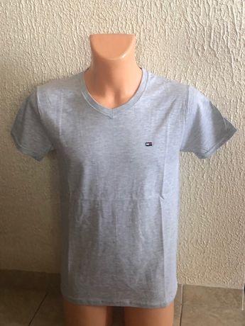 Tommy Hifiger t-shirt męski w szpic L