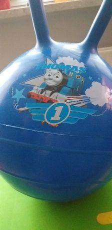 Piłka skoczek ciuchcia Tomek