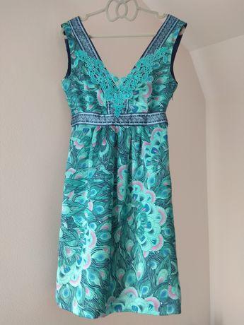 Sukienka turkusowa S