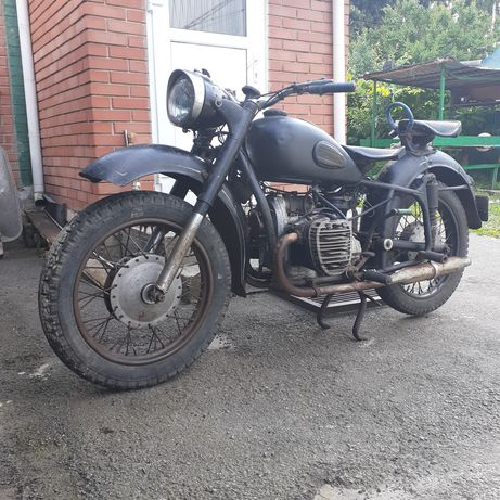 Мотоцикл К 650 з мотором К 750.Обмін
