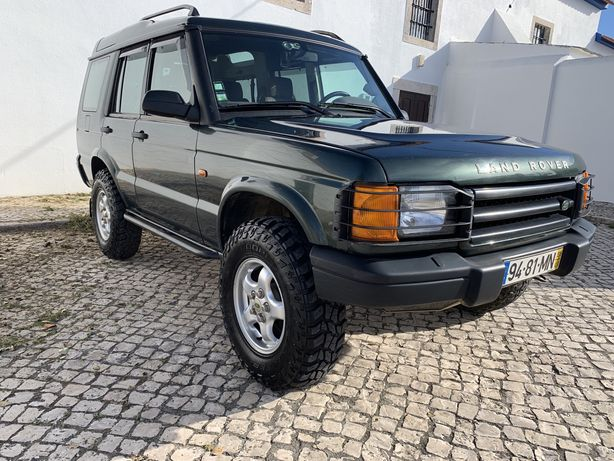 LandRover Discovery Td5 Inside