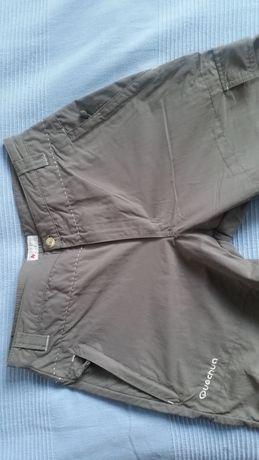 Spodnie turystyczne/narciarskie QUECHUA 2w1 - rozm.36