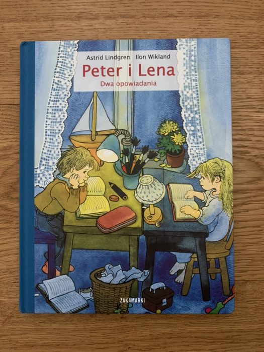 "Książka ""Peter i Lena"" Astrid Lindgren Ilon Wikland Szczecin - image 1"