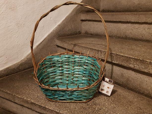 Koszyk do zestawu prezentowego zielony
