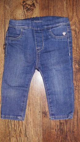 Legginsy jeansowe H&M rozm 68