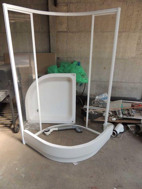 Kabina prysznicowa z demontażu 90x90cm Koło