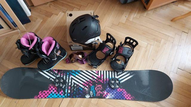 sprzęt do snowboardu