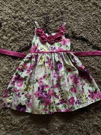 Красивое платье на девлчку 6-8 лет