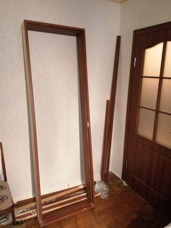 дверная коробка деревянная 60