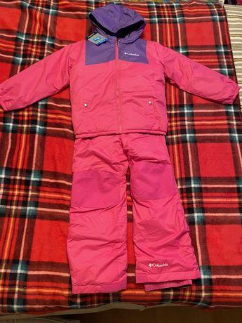 Columbia  6-7 лет комбинезон зимний, двухсторонняя куртка