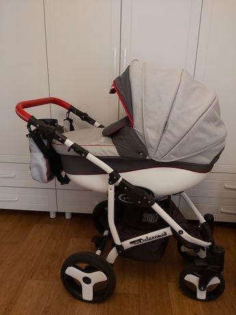 Детская польская коляска 2 в 1  Angelina Deluxe