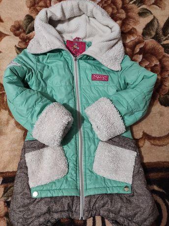 Куртка дитяча на дівчинку