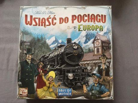 Wsiąść do Pociągu Europa Gra Planszowa