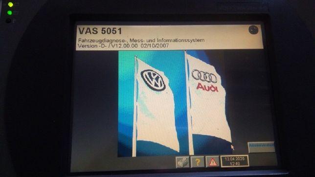 VAS 5051 + dużo kabli i akcesoriów