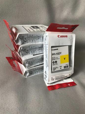 Tusz CANON PFI-102 mbk, bk, y, c, m.