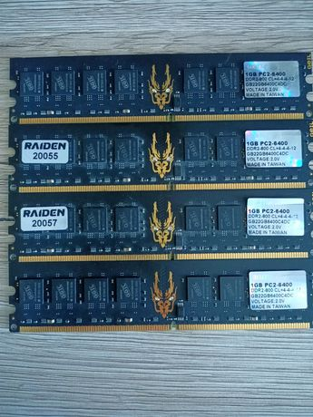 Pamięć RAM DDR2 GEIL 800mhz [4x1GB]
