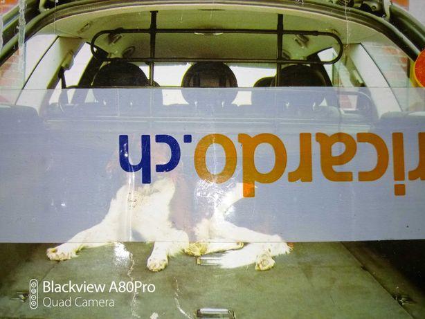 Novo portão de cão e de carga para o carro!