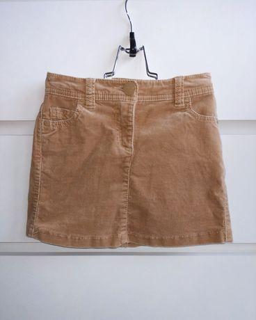Next sztruksowa spódnica r. 110 dla dziewczynki