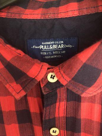 Koszula w krate Pull&Bear L