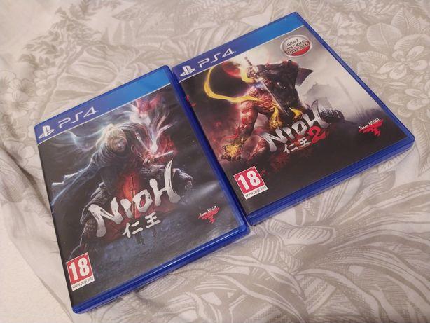 Kolekcja Nioh 1 i 2 gra ps4 PlayStation 4 sprzedam lub zamienie