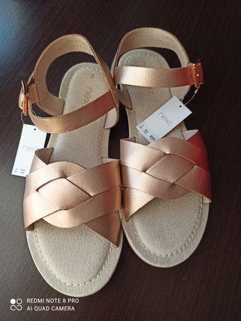 Nowe sandałki Next, rozmiar 35,5.