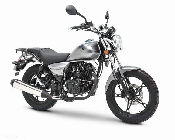 Romet Soft Chopper Motocykl ROMET SOFT 125 srebrny /2020/ EURO4 RZESZÓW