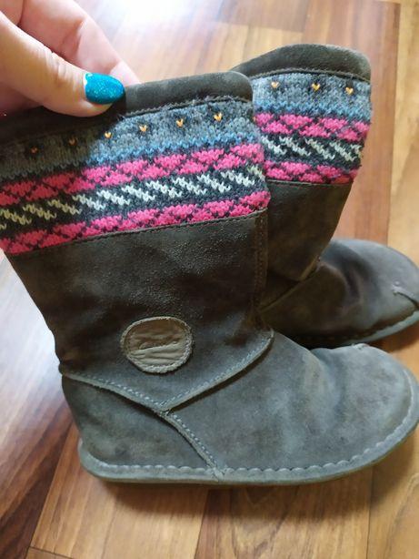 Зимние ботинки сапоги угги Clarks для девочки