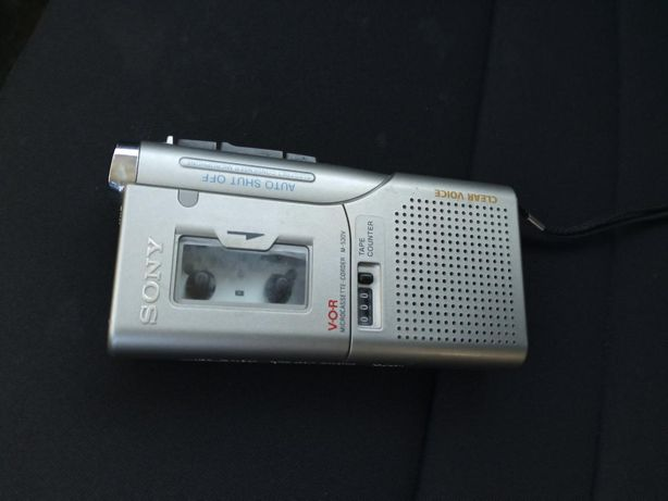 Kolekcjonerski dyktafon Sony