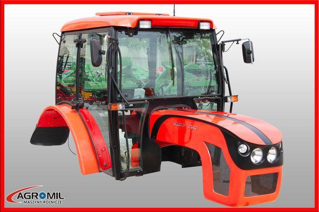 Kabina C360 maska C- 360 Agrotechma zestaw czerwony kabiny maski 04