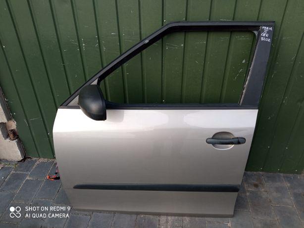 drzwi przednie lewe tył lewe skoda fabia kombi II 9202